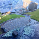 Award winning dorothy lake patio and stone steps