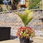 high retaining wall
