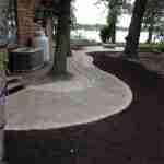 paving stone sidewalk