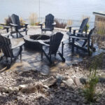 lakeside grand flagstone patio