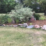 landscape enhancement flower bed mulch
