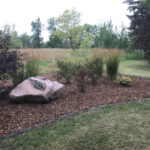 landscape enhancement mulch bed