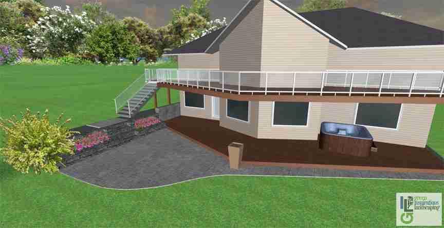 patio steps design