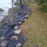 riverbank stabilization prep