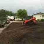 skidsteer soil prep
