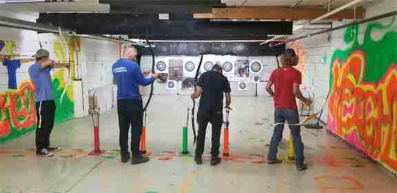 team building archery