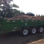 woodchip mulch delivery